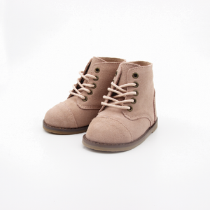 The real Boots - Suede Nude - LUXE + RO