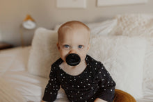 The LUXE - BLACK Pacifier - LUXE + RO