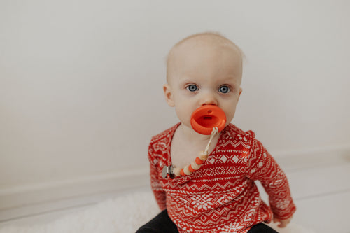 The LUXE - RED Pacifier - LUXE + RO