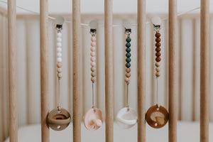 The LUXIE |  Nude Pacifier - LUXE + RO