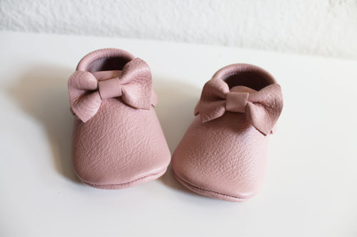 Baby Pink moccasins - LUXE + RO