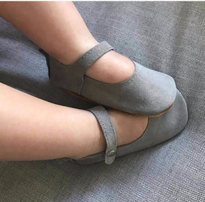 baby girl shoes-mary janes-grey shoes-gray shoes-baby mary janes