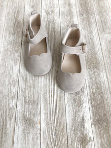 Mary Janes Grey  - Hard soles RTS