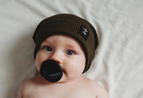 The LUXIE | Black Pacifier - LUXE + RO