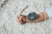 Luxe Set | White & Grey Pacifiers - LUXE + RO