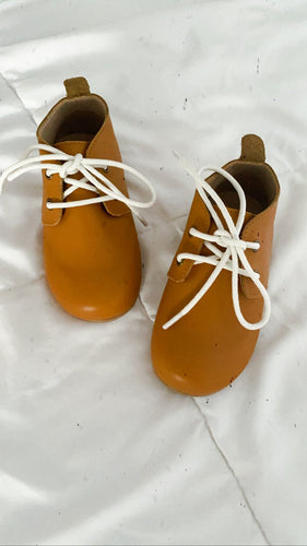 PRE ORDER Tan Oxfords
