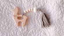 Llama with tassels Wooden Teething Toy - LUXE + RO