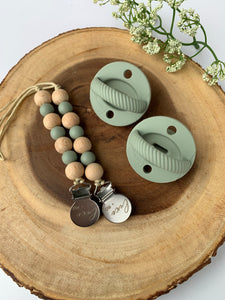The LUXIE | Sage Pacifier - LUXE + RO
