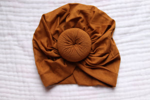 Knotted Headband | Taupe - LUXE + RO