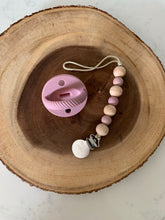 The LUXE  Pacifier  - Light Mauve - LUXE + RO