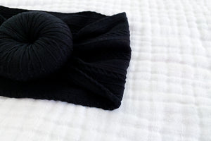 Knot Headband | Black - LUXE + RO