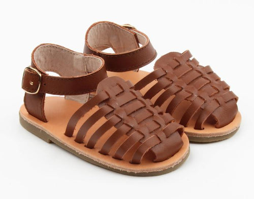 PRE-ORDER SUMMER SANDALS BROWN - LUXE + RO