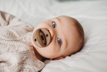 The LUXE | Taupe Pacifier - LUXE + RO