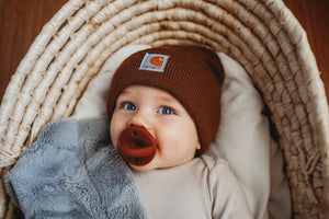 The LUXE | Redwood Pacifier - LUXE + RO
