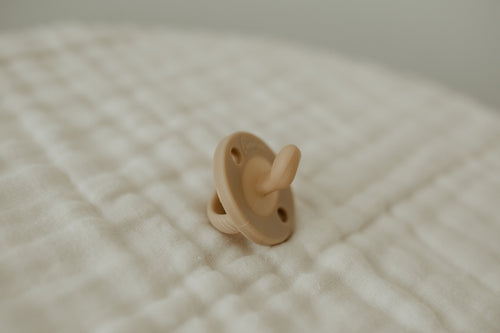 The LUXIE | Nude Coffee Pacifier - LUXE + RO