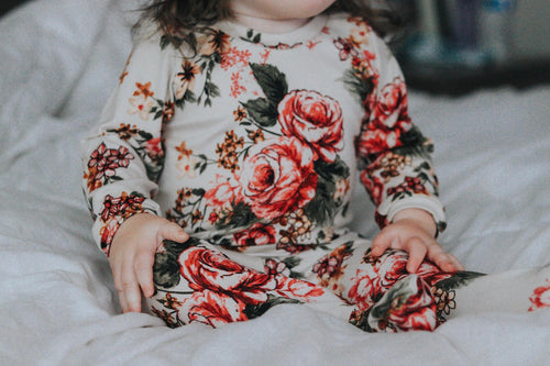 Floral Loungewear Set - LUXE + RO