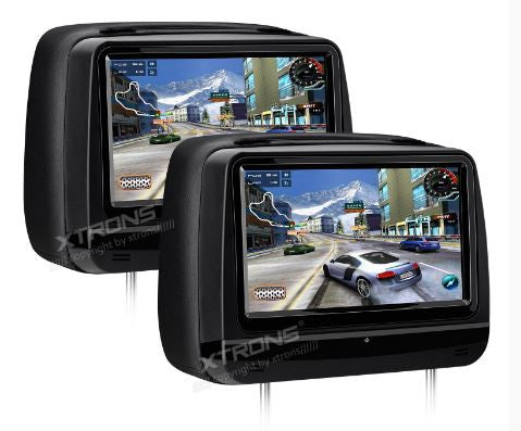 Cabeceras para asiento, Touch Screen de 9, DVD, HDMI
