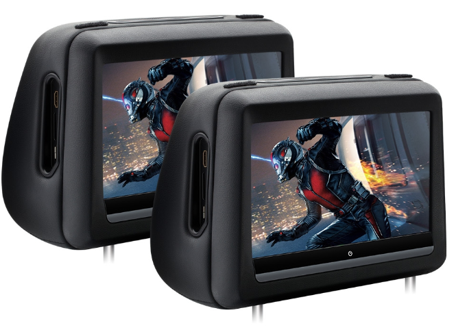 Cabeceras para asiento, Touch Screen de 10.1, DVD, HDMI
