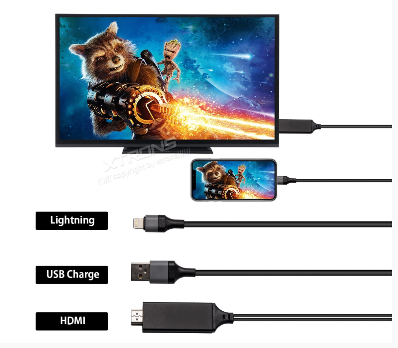 Cable HDMI para iPhone