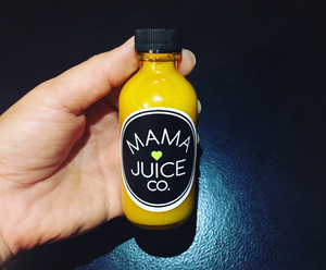 Mama Juice Co. Cold-Pressed Juice Shots.