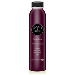 detox mama - mama juice co. - vancouver - wholesale - juice - organic - red beet - ginger - apple - carrot