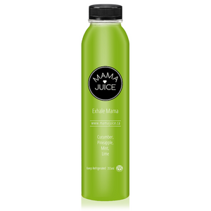 exhale mama - mama juice co. - vancouver - wholesale - juice - organic - cucumber - pineapple - mint