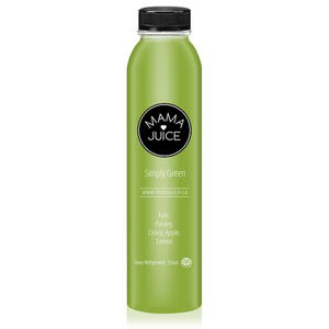 simply green - mama juice co. - vancouver - wholesale - juice - organic - kale - parsley - celery