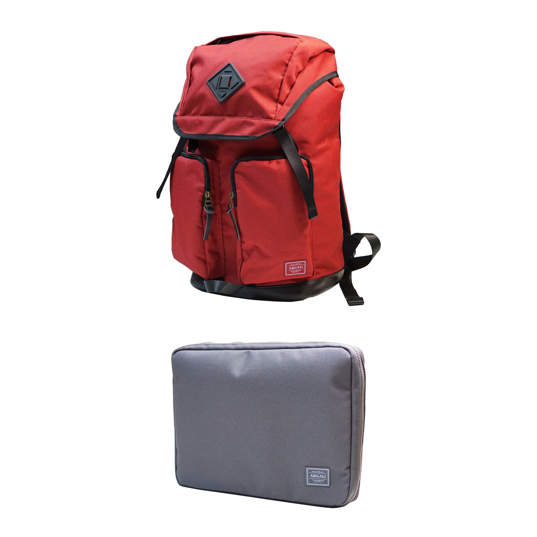 Racoon Backpack + Dhole Laptop Case