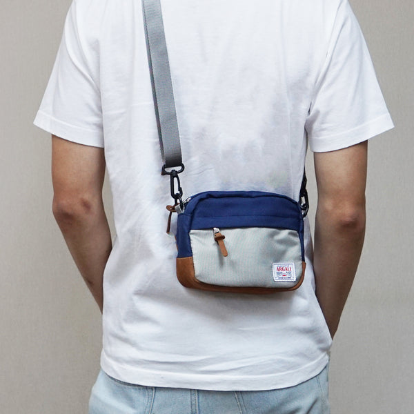Lynx Waist Bag NAVY x GREY