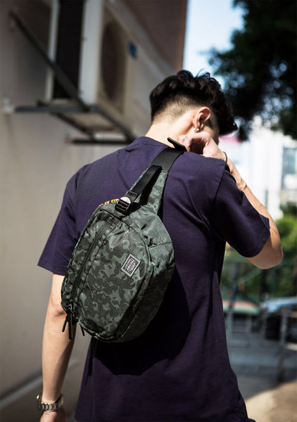 Elf Shoulder Bag GREEN CAMOUFLAGE