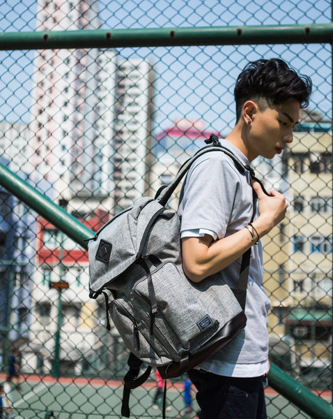 Racoon Backpack DARK GREY