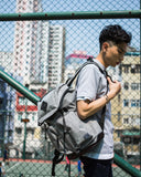 Racoon Backpack LIGHT GREY