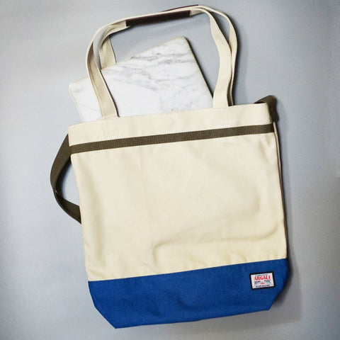 Plover Tote Bag (2-Way) MILKY WHITE
