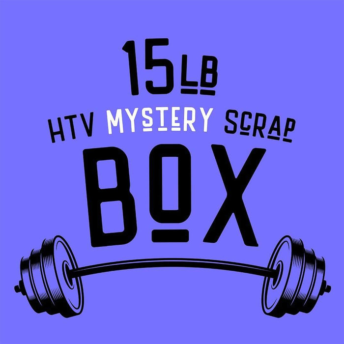 15 Pounds HTV Scrap Box Mystery
