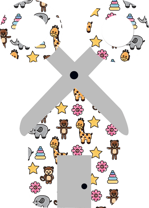 CraftHTV.com Vinyl Fairy Tale Baby Animals Pattern - 1077