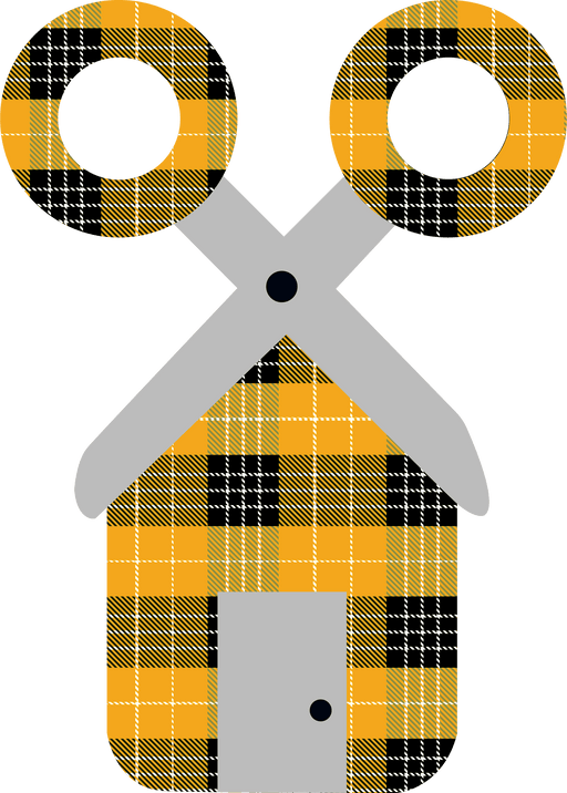 CraftHTV.com Pattern Vinyl Fairy Tale Buffalo Plaid Gold Pattern Vinyl - 1327