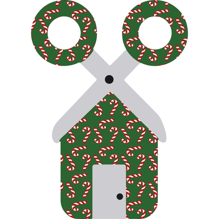 CraftHTV.com Vinyl Fairy Tale Dark Candy Canes w/Dark Green Pattern - 1020