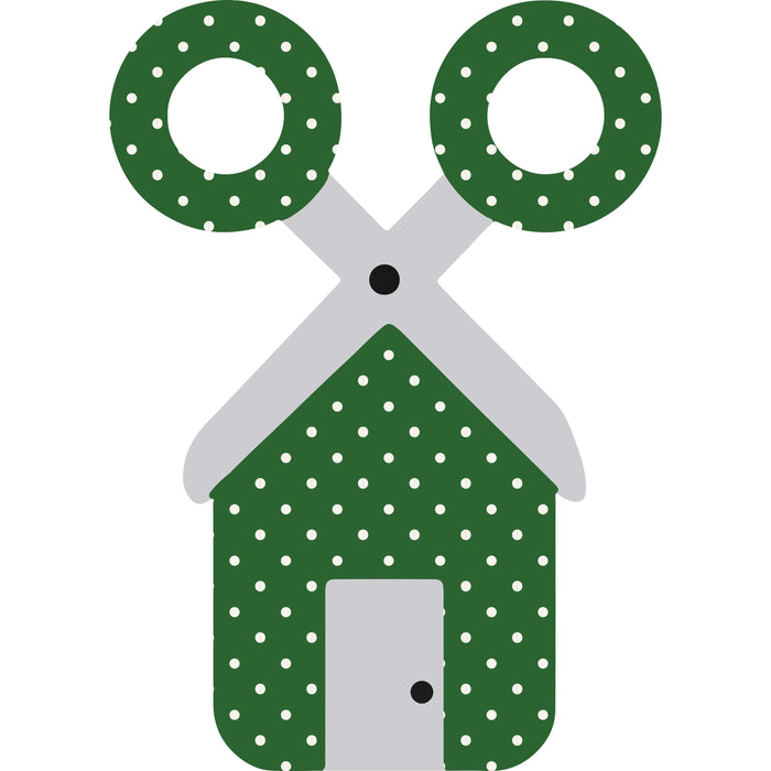 CraftHTV.com Vinyl Fairy Tale Dark Green Polka Dots Pattern - 1021