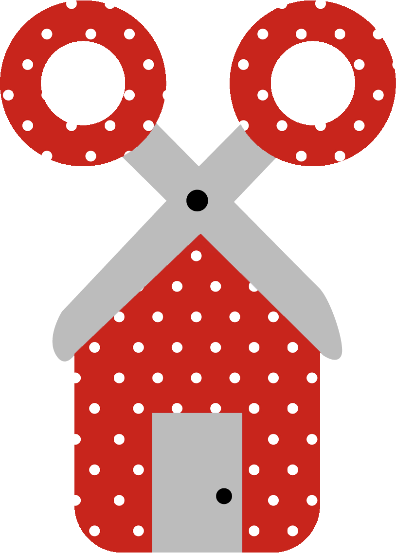 Fairy Tale Red Polka Dots Pattern 1008