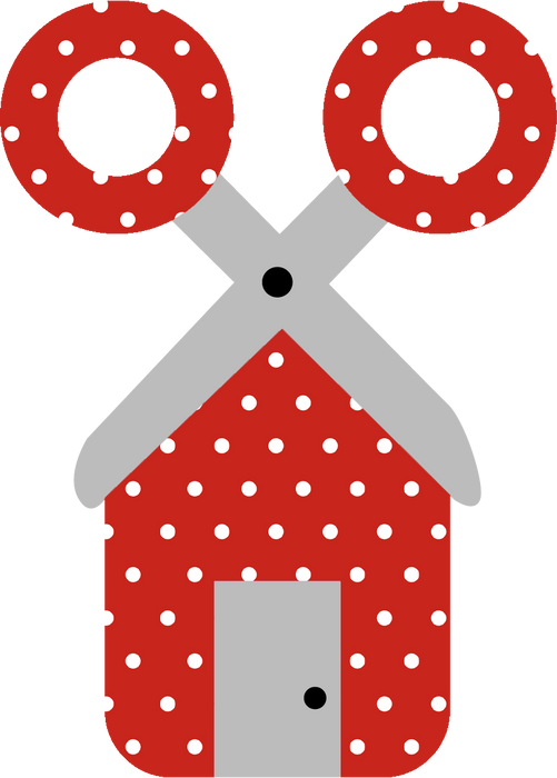 CraftHTV.com Vinyl Fairy Tale Red Polka Dots Pattern - 1008