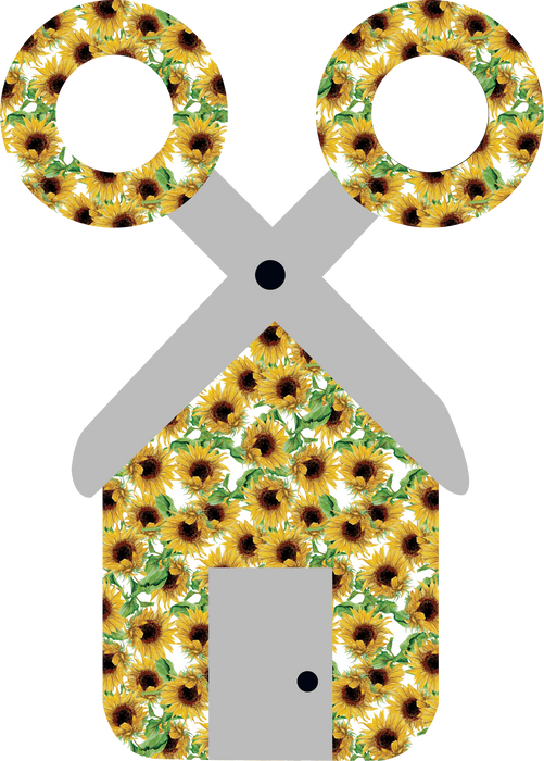 CraftHTV.com Vinyl Fairy Tale Sunflowers Pattern - 1105