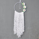 White Flowers Dreamcatcher
