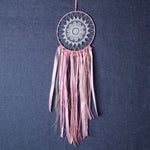 Indian Pink Lace Dreamcatcher
