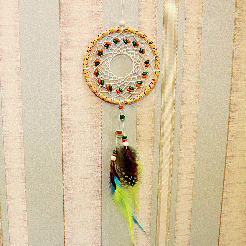 Indian Style Feather Dream Catcher