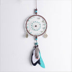 Green Beads Dream Catcher