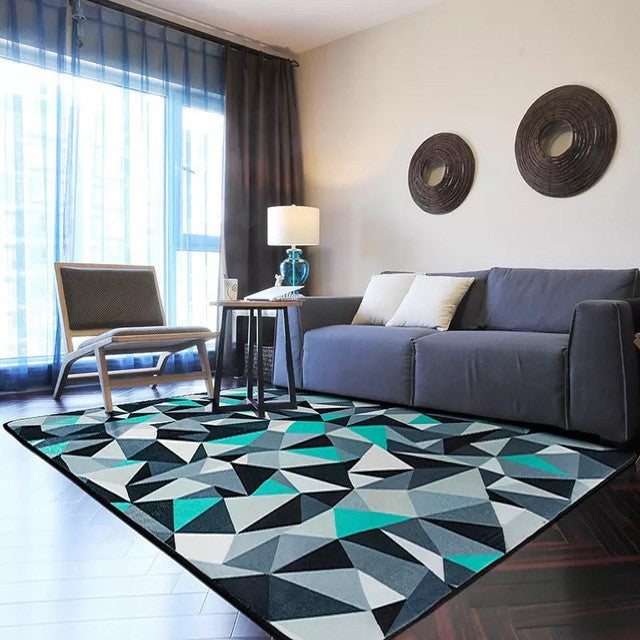 Europe Style Geometric Carpet