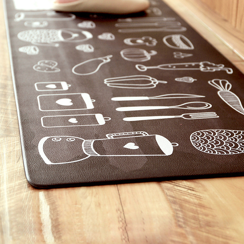 Comfortable Anti Fatigue Kitchen Rug