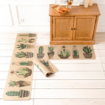Cactus Kitchen Rug