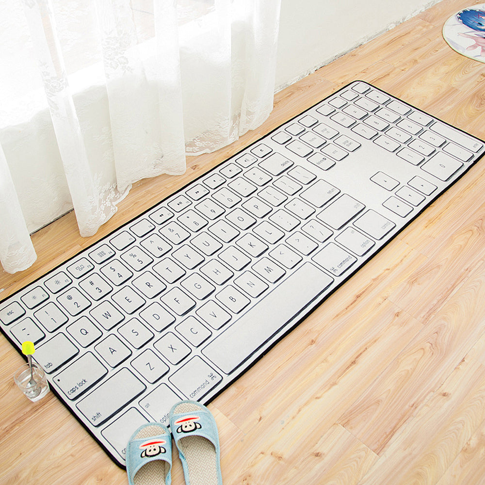 3D Keyboard/Dollar/Circuit Board Kitchen Carpet