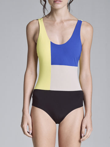 COLOR BLOCK CLASSIC ONE PIECE